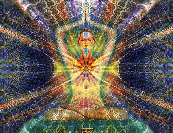 when you meditate, you radiate